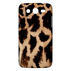 Giraffe Texture Yellow And Brown Spots On Giraffe Skin Samsung Galaxy Mega 5 8 I9152 Hardshell Case  by Nexatart