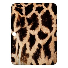 Giraffe Texture Yellow And Brown Spots On Giraffe Skin Samsung Galaxy Tab 3 (10 1 ) P5200 Hardshell Case