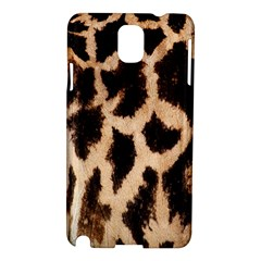 Giraffe Texture Yellow And Brown Spots On Giraffe Skin Samsung Galaxy Note 3 N9005 Hardshell Case