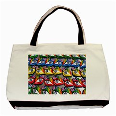 The Eye Of Osiris As Seen On Mediterranean Fishing Boats For Good Luck Basic Tote Bag by Nexatart