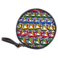 The Eye Of Osiris As Seen On Mediterranean Fishing Boats For Good Luck Classic 20 Cd Wallets