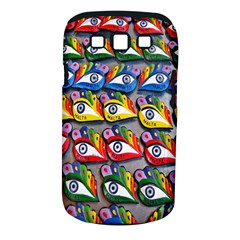 The Eye Of Osiris As Seen On Mediterranean Fishing Boats For Good Luck Samsung Galaxy S Iii Classic Hardshell Case (pc+silicone) by Nexatart