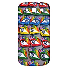 The Eye Of Osiris As Seen On Mediterranean Fishing Boats For Good Luck Samsung Galaxy S3 S Iii Classic Hardshell Back Case by Nexatart