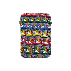 The Eye Of Osiris As Seen On Mediterranean Fishing Boats For Good Luck Apple Ipad Mini Protective Soft Cases