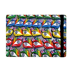 The Eye Of Osiris As Seen On Mediterranean Fishing Boats For Good Luck Ipad Mini 2 Flip Cases by Nexatart