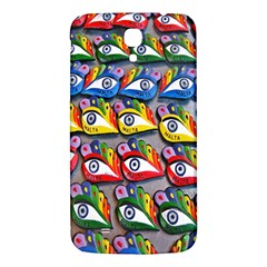 The Eye Of Osiris As Seen On Mediterranean Fishing Boats For Good Luck Samsung Galaxy Mega I9200 Hardshell Back Case by Nexatart