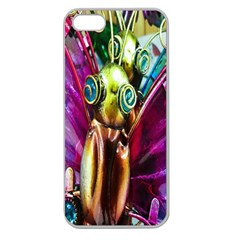 Magic Butterfly Art In Glass Apple Seamless Iphone 5 Case (clear)
