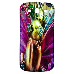 Magic Butterfly Art In Glass Samsung Galaxy S3 S Iii Classic Hardshell Back Case by Nexatart