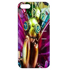 Magic Butterfly Art In Glass Apple Iphone 5 Hardshell Case With Stand by Nexatart