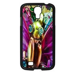 Magic Butterfly Art In Glass Samsung Galaxy S4 I9500/ I9505 Case (black)