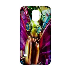 Magic Butterfly Art In Glass Samsung Galaxy S5 Hardshell Case  by Nexatart