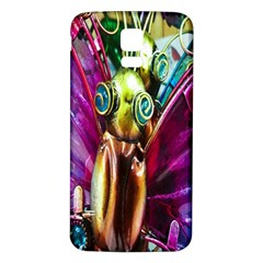 Magic Butterfly Art In Glass Samsung Galaxy S5 Back Case (white) by Nexatart