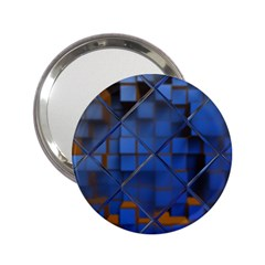 Glass Abstract Art Pattern 2 25  Handbag Mirrors