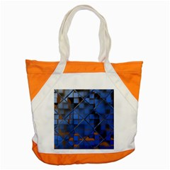Glass Abstract Art Pattern Accent Tote Bag