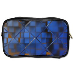 Glass Abstract Art Pattern Toiletries Bags