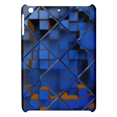 Glass Abstract Art Pattern Apple Ipad Mini Hardshell Case by Nexatart