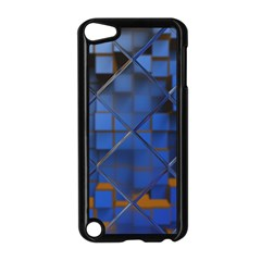 Glass Abstract Art Pattern Apple Ipod Touch 5 Case (black) by Nexatart