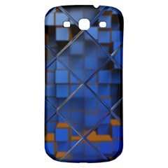 Glass Abstract Art Pattern Samsung Galaxy S3 S Iii Classic Hardshell Back Case by Nexatart
