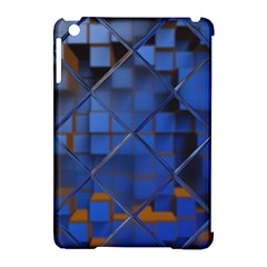 Glass Abstract Art Pattern Apple Ipad Mini Hardshell Case (compatible With Smart Cover) by Nexatart