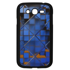 Glass Abstract Art Pattern Samsung Galaxy Grand Duos I9082 Case (black)