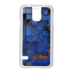 Glass Abstract Art Pattern Samsung Galaxy S5 Case (white)