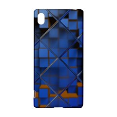 Glass Abstract Art Pattern Sony Xperia Z3+ by Nexatart