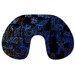 Background Abstract Art Pattern Travel Neck Pillows