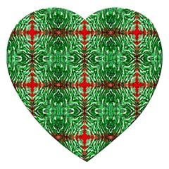 Geometric Seamless Pattern Digital Computer Graphic Jigsaw Puzzle (heart) by Nexatart