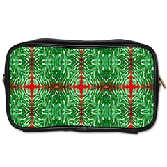Geometric Seamless Pattern Digital Computer Graphic Toiletries Bags 2 Side by Nexatart