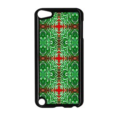 Geometric Seamless Pattern Digital Computer Graphic Apple Ipod Touch 5 Case (black) by Nexatart
