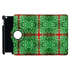 Geometric Seamless Pattern Digital Computer Graphic Apple Ipad 2 Flip 360 Case by Nexatart