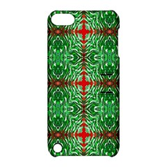 Geometric Seamless Pattern Digital Computer Graphic Apple Ipod Touch 5 Hardshell Case With Stand by Nexatart