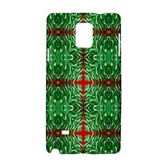 Geometric Seamless Pattern Digital Computer Graphic Samsung Galaxy Note 4 Hardshell Case by Nexatart