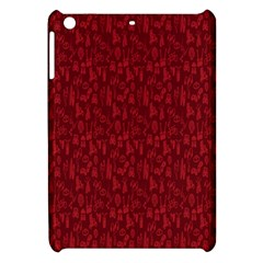 Bicycle Guitar Casual Car Red Apple Ipad Mini Hardshell Case by Mariart