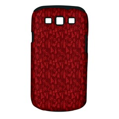 Bicycle Guitar Casual Car Red Samsung Galaxy S Iii Classic Hardshell Case (pc+silicone) by Mariart