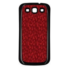 Bicycle Guitar Casual Car Red Samsung Galaxy S3 Back Case (black) by Mariart