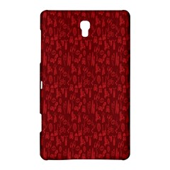 Bicycle Guitar Casual Car Red Samsung Galaxy Tab S (8 4 ) Hardshell Case  by Mariart