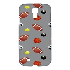 Balltiled Grey Ball Tennis Football Basketball Billiards Samsung Galaxy S4 I9500/i9505 Hardshell Case by Mariart