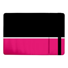 Black Pink Line White Samsung Galaxy Tab Pro 10 1  Flip Case by Mariart