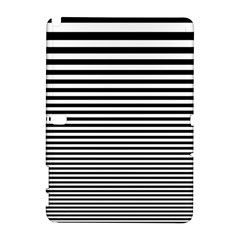 Black White Line Galaxy Note 1 by Mariart