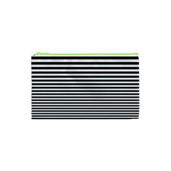 Black White Line Cosmetic Bag (xs) by Mariart
