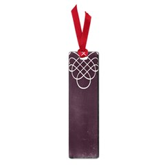 Black Cherry Scrolls Purple Small Book Marks by Mariart