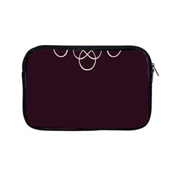 Black Cherry Scrolls Purple Apple Macbook Pro 13  Zipper Case by Mariart