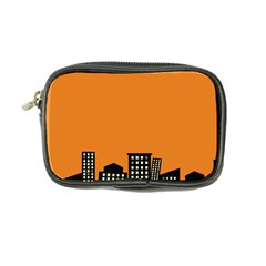 City Building Orange Coin Purse by Mariart