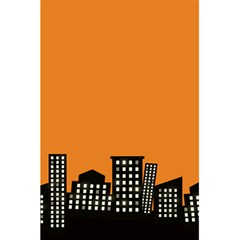 City Building Orange 5 5  X 8 5  Notebooks by Mariart