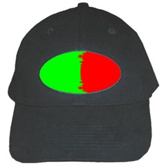 Critical Points Line Circle Red Green Black Cap by Mariart