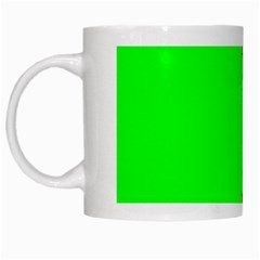 Critical Points Line Circle Red Green White Mugs by Mariart