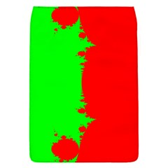 Critical Points Line Circle Red Green Flap Covers (s)  by Mariart