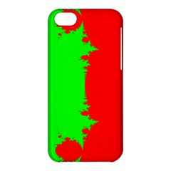 Critical Points Line Circle Red Green Apple Iphone 5c Hardshell Case by Mariart