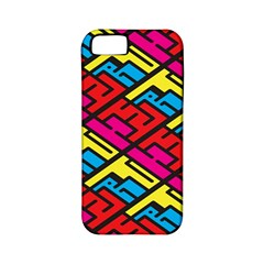 Color Red Yellow Blue Graffiti Apple Iphone 5 Classic Hardshell Case (pc+silicone) by Mariart